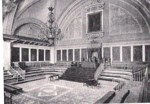 Paraninfo de la Universidad a principios del siglo XIX