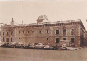 La antigua universidad en los años 60 del siglo XX.