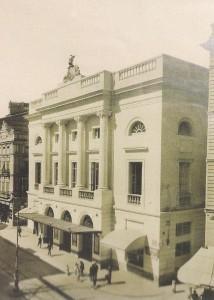 El Teatro Principal en 1919