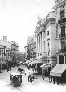 El Teatro Principal en 1903